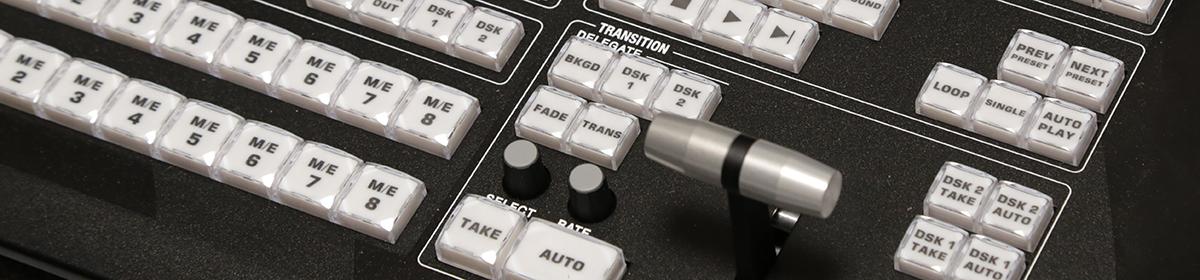 Live Production Switcher & Camera Operator